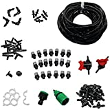 1 Set Automatic Pipe Fountain Drip Irrigation System With Sprinklers Garden