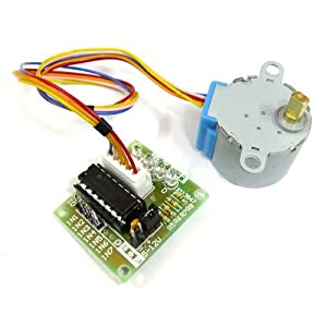ULN2003 Control Stepper Motor by Parallel Port