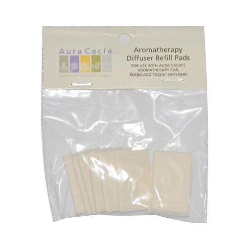 Aura Cacia Aromatherapy Diffuser Refill Pads 10 Refills