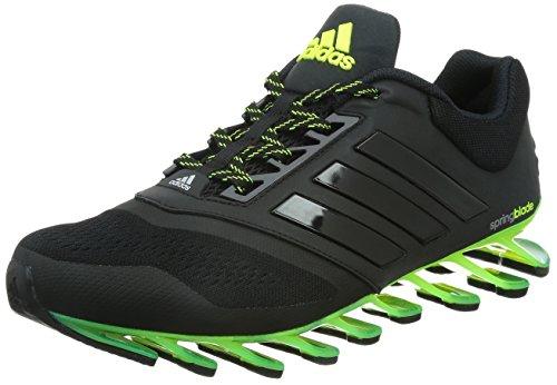 [アディダス] adidas ランニングシューズ Springblade Drive 2 D69684 D69684 (コアブラック/ソーラーイエロー/ソーラーイエロー/27.0)