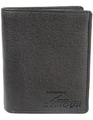 Zymour Men, Boys Black Artificial Leather Card Holder