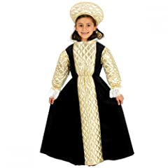Child Girl Tudor Queen / Anne Boleyn Costume Size Large 10-12 years