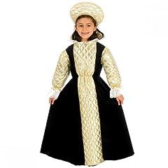 Child Girl Tudor Queen / Anne Boleyn Costume Size Large 10-12 years