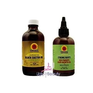 Amazon.com: Jamaican Black Castor Oil 4oz + Strong Roots