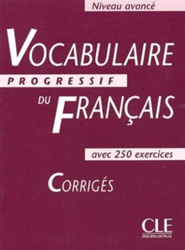 Vocabulaire Progressif Du Francais Des Affaires Pdf
