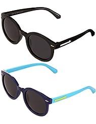 Bobe Kids Sunglasses For Boys And Girls Combo Pack Of 2
