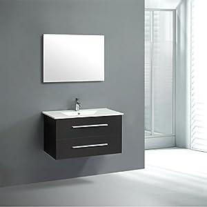 Outsunny - Set mobile da bagno set arredo per bagno lavabo lavadino ...