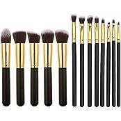 Imported 13Pcs Makeup Blush Brush Foundation Powder Eye Shadow Lip Brushes Black