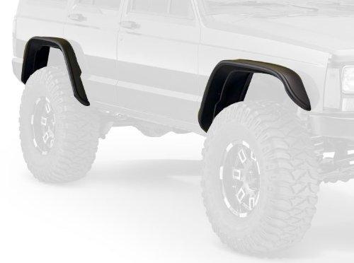 Bushwacker Jeep Flat Style Fender Flare Set of 4