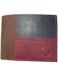 GOOD LIFE STUFF Genuine Leather Multi Color Wallet For Men (GLSMLT-Z006)