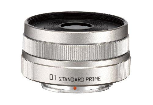 PENTAX+標準単焦点レンズ+01+STANDARD+PRIME+シルバー+Qマウント+22067