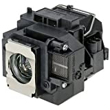 Projector Lamp ELPLP58 / V13H010L58 W/Housing For EPSON Projectors And 1-Year Replacement Warranty