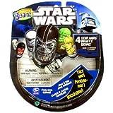 Mighty Beanz 2010 Star Wars Starter Pack Set 4 Beanz