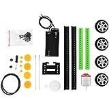 Alcoa Prime Self Assembly DIY Mini Battery Powered Car Model Kit Children Kids Educational Toy Gift Newest