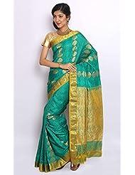 Sudarsahan Silks Pure Silk Kanjeevaram Hand Woven Saree - B00NV18C9G