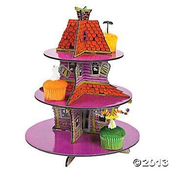 Haunted House Cupcake/Donut Holder