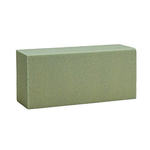 FloraCraft Dry Foam Blocks, 2.625 by 3.5 by 7.875-Inch, Green, 6-Pack