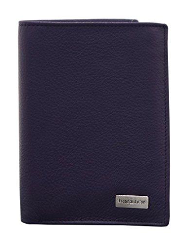Portefeuille Design pour homme en cuir Violet N772