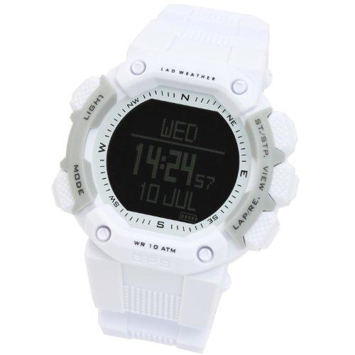 [LAD WEATHER] ラドウェザー 腕時計 GPSウォッチ 電池交換不要 地球上で狂わない アウトドア/ミリタリー 時計