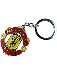 Techpro Metal Keychain With Singlesided Manchester United Design