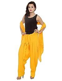 PMS Pure Cotton Semi Patiala Salwar With Dupatta Sets - B0183WQP28