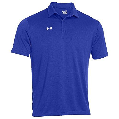 Under armour men 39 s team 39 s armour polo golf shirt assorted for Sun protection golf shirts