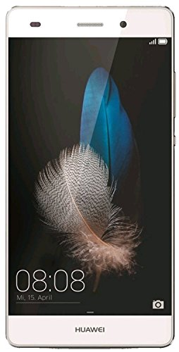 "Huawei P8 Lite - Smartphone libre Android (pantalla 5"", cámara 13 Mp, 16 GB, HiSilicon Kirin 620 Octa Core 1.2 GHz, 2 GB RAM), color blanco"