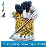 NAVKAR Lord Shiv Shanker Costume For Kids Fancy Dress Competition & Shivratri ( 3-5 Yrs)