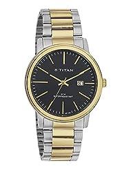 Titan Black Dial Analog Watch For Men - 9440BM01J