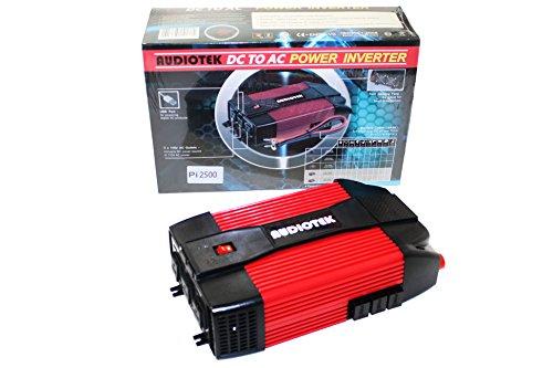 AUDIOTEK Pi2500 DC To AC Pro Portable Heavy Duty Power Inver
