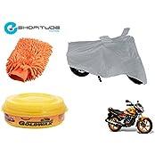 ESHOPITUDE-Bike & Car Cleaning & Utility Combo Set Of 3-Honda UNICORN