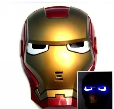 Iron Man Mask with Lite-up Eyes