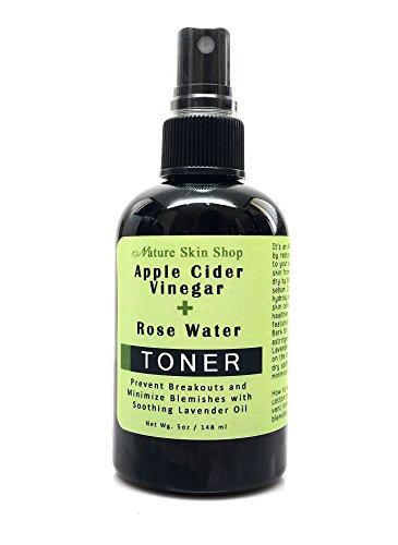 Apple Cider Vinegar + Rose Water Toner - Prevent Breakouts