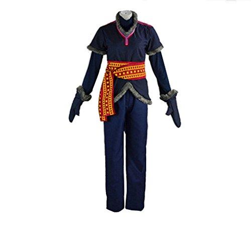 Cuterole Men Prince Kristoff Cosplay Costume Halloween Adult Kids Outfit Custom