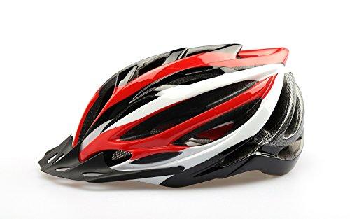 Baseca Elastic Ultralight Road/Mountain Bike Helmet BMX/MTB Bike Cycling Racing Helmets Mens Womens re+w+b