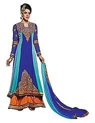 Vibes Designer Pure Georgette Unstiched Dress Materials V203-8004