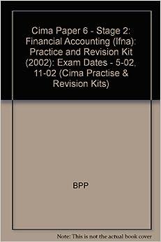 Cima Exam Practice Kit Management Accounting Decision Management: 2007 Edition
