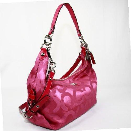 ff969480c372b BlogGang.com     OVip - Cheap Coach Madison Op Art Hailey Hobo Handbag Purse  Style 14337