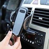 Alcoa Prime Adjustable Car CD Slot Mount GPS PSP MP3 Phone Bracket Clamp Holder