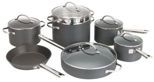 Anolon Professional Hard Anodized Nonstick 12-Piece Cookware Set