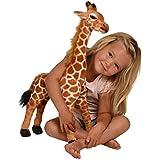 Kangaroo Stuffed Giraffe - Toy Plush Giraffe- 2 High