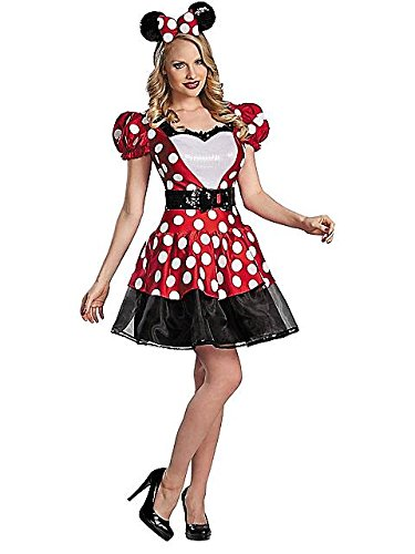 Disguise Women's Disney Mickey Mouse Glam Minnie Costume,