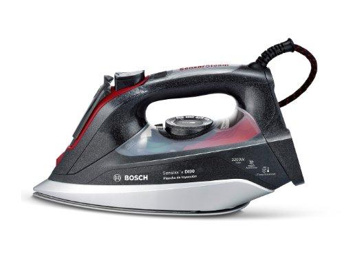 Bosch TDI903239A - Plancha de inyección (de vapor), 3200 W, color negro...