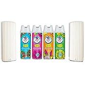 Cotton Mist 2 In 1 Air Freshener Manual Dispenser With Spray Refills 200 Ml