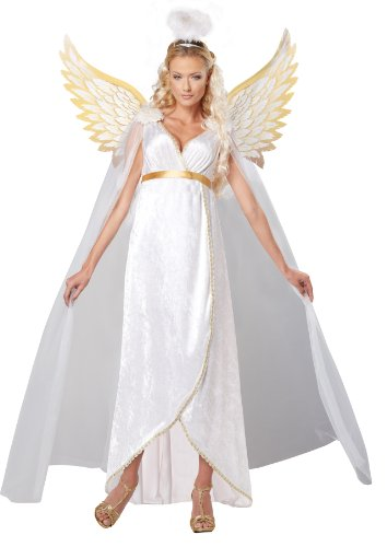 California Costumes Women's Guardian Angel Adult, White, Large
