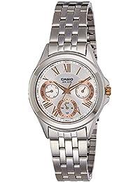 Casio Enticer Ladies Analog White Dial Women's Watch - LTP-E308D-7AVDF(A1064)