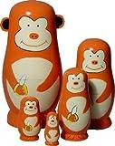 Monkey Nesting Dolls Set