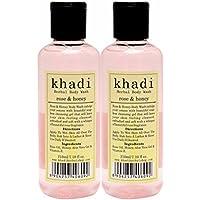 Khadi Rose & Honey Body Wash [ PACK OF 2]