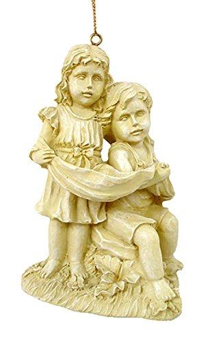Loving Victorian Boy & Girl Christmas Ornament