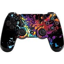 Elton PS4 Controller Designer 3M Skin For Sony PlayStation 4 , PS4 Slim , PS4 Pro DualShock Remote Wireless Controller (Set Of Two Controllers Skin) - Paint Splats